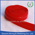 Polyester Customized Logo Fold Over Binding Elastic Webbing