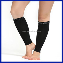 2016 Professional men compression leg running sleeves graduated sports calf sleeves