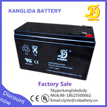rechargeable 12V 7.2ah lead acid ups battery