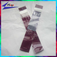 BOPP resealable plastic bags for pen packaging