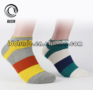 Sex Women Colorful Crew Socks Custom Design Socks Men Cotton Colored Ankle Socks
