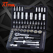 77 pcs TOOL KIT CRV QUALITY tools for auto repair USE RT TOOL
