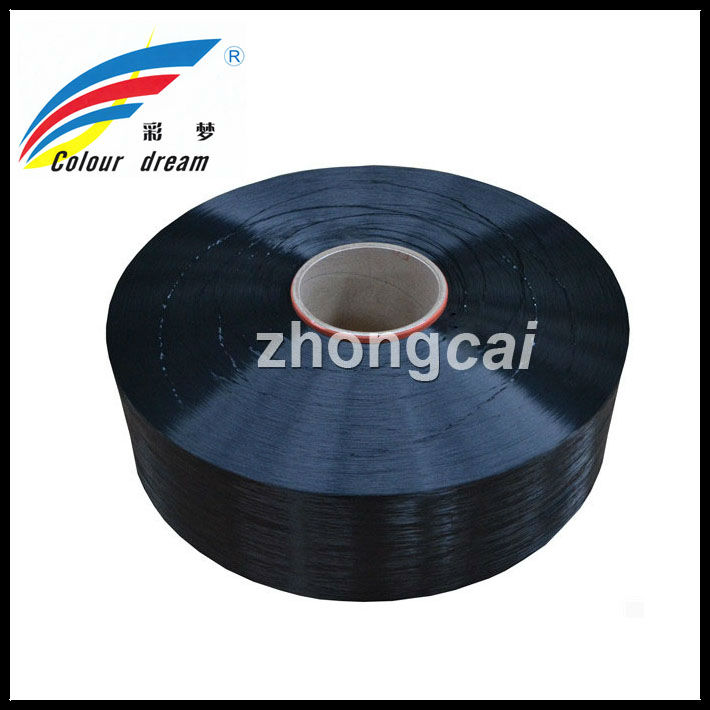 Polyester POY BLACK 250/48 for final 150/48 AA Grade COLOR YARN POY IN CHEAP PRICE
