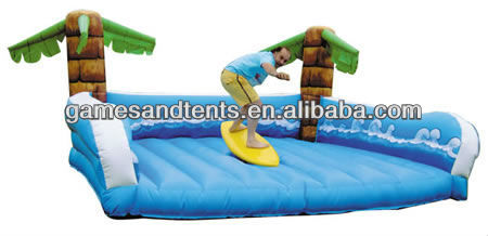 hot inflatable mechanical surfboard and rodeo bull machine A6046