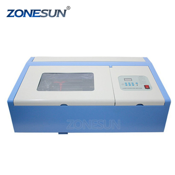 ZONESUN Ship from DE High Quality mini 3d crystal laser engraving machine price 110/220V 40W supply