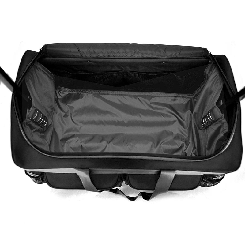 Collapsible Trolley Dance Bag Dance Duffle Bag with Garment Rack