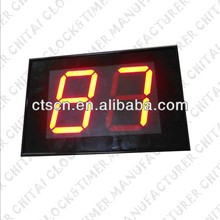 Customized Size Optional Display Color LED Screen 2 Digits Countdown Timer