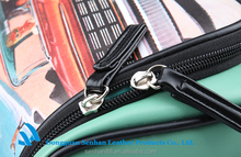 2015 Simple fashion women's Toiletry leather Bag for travel