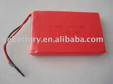 6767100 7.4V 5000mAh li ion polymer battery