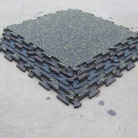 Rubber Interlocking Flooring Rubber Flooring Underlay