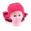 hot sale crochet knitted baby hat