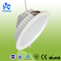 15W dimmable ceiling recessed round led downlight for home/hotel/shopping mall