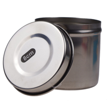 stainless steel hospital gallipot jar ointment jar gauze jar