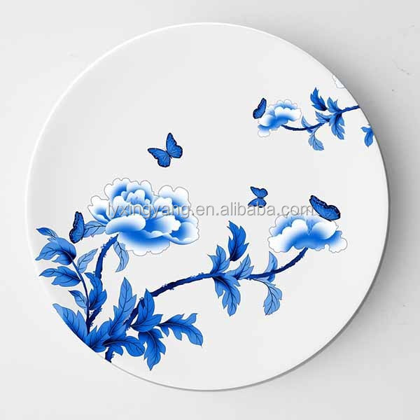 decorative ceramic plate, tableware plate, custom ceramic plates