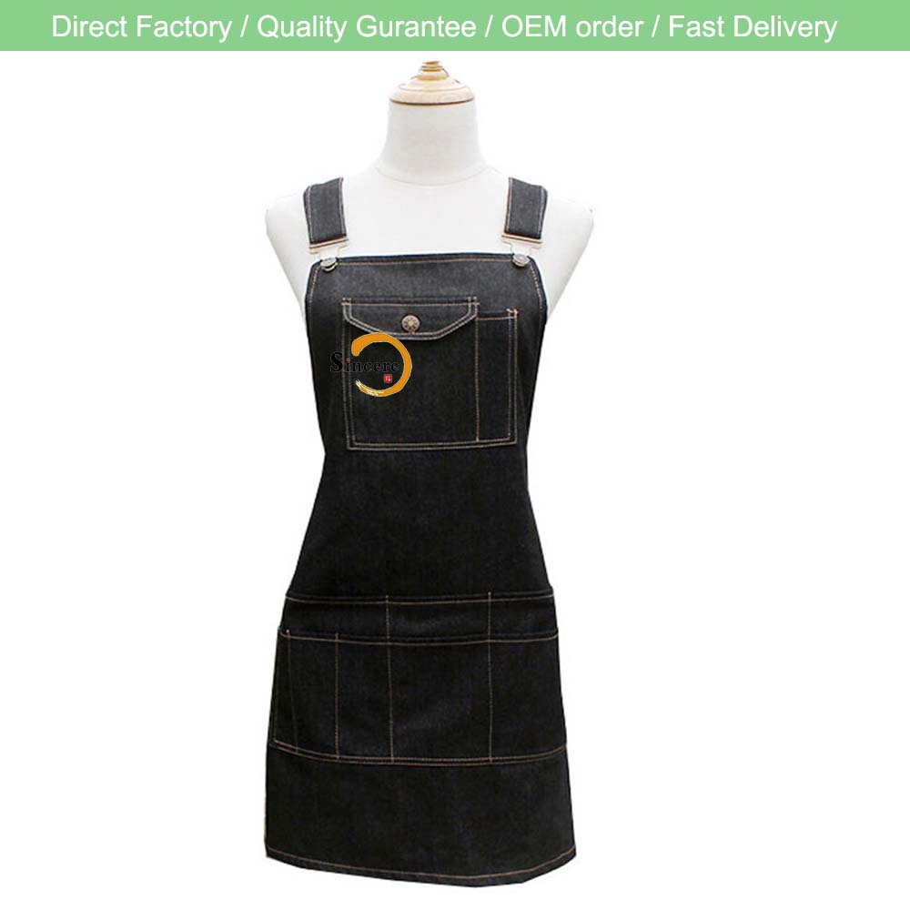 Professional Grade Chef Apron for Kitchen, BBQ, and Grill