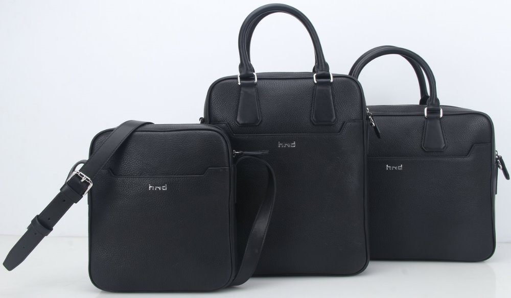 New Design Customized Business Office Bag Men Leather Briefcase Executive Laptop Hand Bags Wholesale
