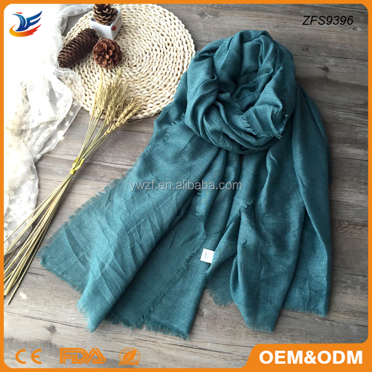 solid color pashmina scarf new fashion cotton wrap