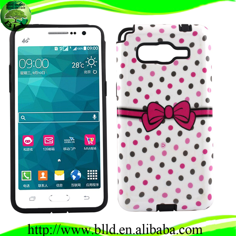 Factory PC TPU combo latest mobile covers, mobile phone cover, fancy mobile covers for Samsung Galaxy Prime G530H