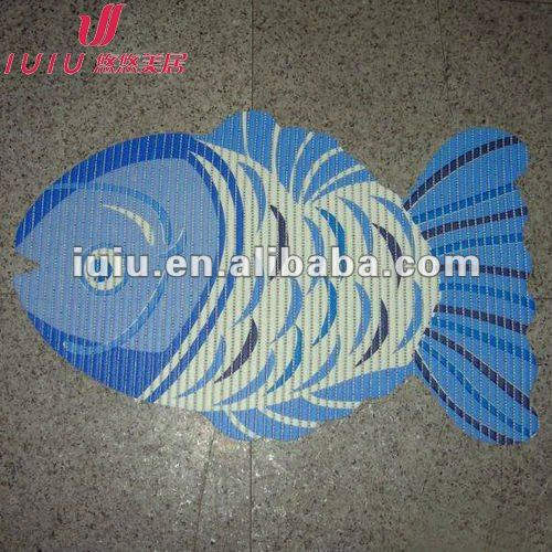 Hot sale the latest fashion anti slip shower mat