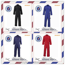 OEM welcome royal blue long sleeve gardener uniform
