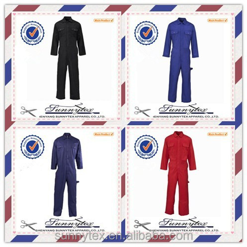 Sunnytex OEM welcome royal blue long sleeve gardener uniform