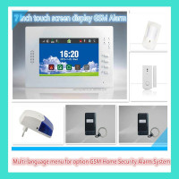 Hot Selling Strong Anti-interference FSK 868Mhz GSM Alarm System Security Home Burglar Alarm Systems with Big LCD Display