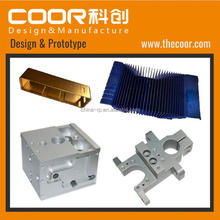 CNC Aluminium Metal Rapid Prototype Machining Parts High Quality COOR Design