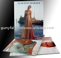 Quality Coated Paper Glued Fashion Catalogues