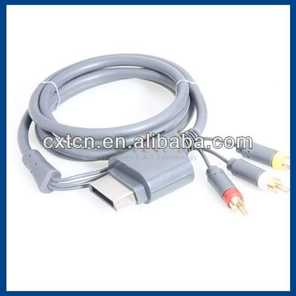 Hot!!! Component av cable for Xbox 360