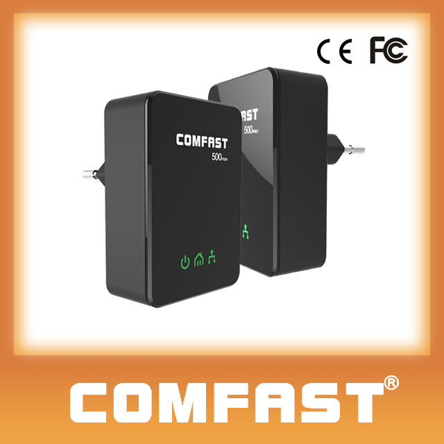 COMFAST (CF-WP500M new) 500Mbps Powerline Ethernet Adapter