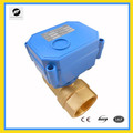 DC3-6V CWX-15N Fmale-Male thread electric valve auto control BSP/NPT standard for flow control