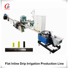 Flat emitter drip irrigation agricultural water irrigation tube hdpe pipe extruding machine