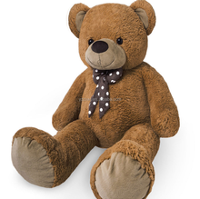 free sample Giant Teddy Bear 175cm Big Extra Large XL Brown Huge Soft Plush Brown Toy Cuddly Child Big Soft Plush Toys