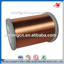 China Manufacturer 0.09mm Copper Wire UEW Coated Enameled Copper Wire