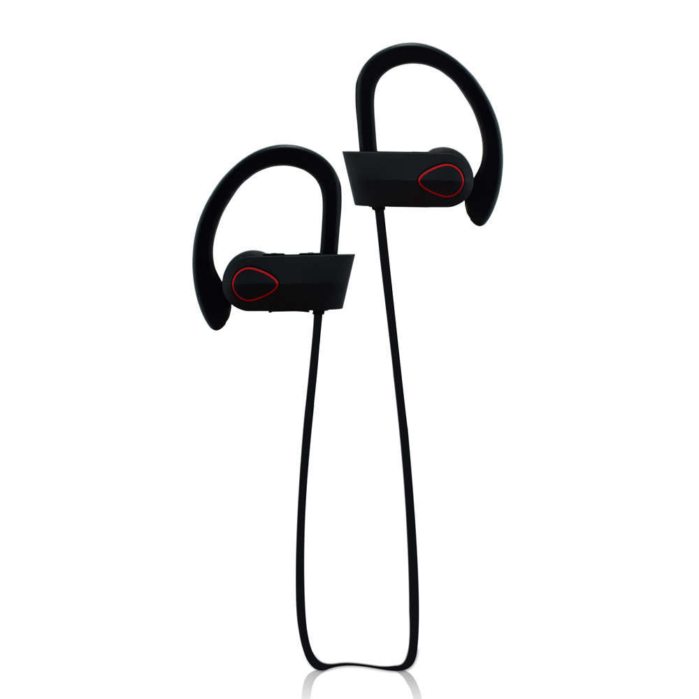 Cooling Design Sport IPX7 Waterproof Stereo Bluetooth Earphone OEM for Mobile Phone with Long Standby Time RU9