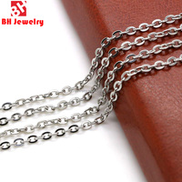 New Fashion Necklace 316L Stainless Steel Chain Necklace For Pendant BHC0019