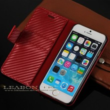 New Wallet Card Holder PU Leather Flip Case Cover For iPhone 4/4S 5/5S 6 Colors