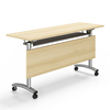 conference table office working foldable table with bookcase