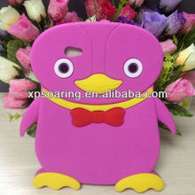 for Samsung Galaxy Tab 2 P3100 penguin designed silicon cover back case