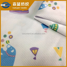 100 polyester white dyed knit sublimation fabric for sport t shirt