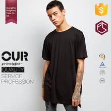 Guangdong manufacture OEM short sleeve mens long tail t shirt