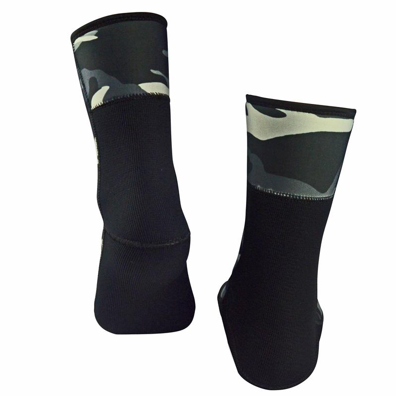 men's women's 7mm neoprene diving socks for winter fishing underwater hunting spearfishing scuba diving 06