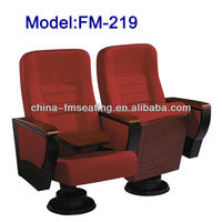 FM-219 Modern design floor mounted padded church chair