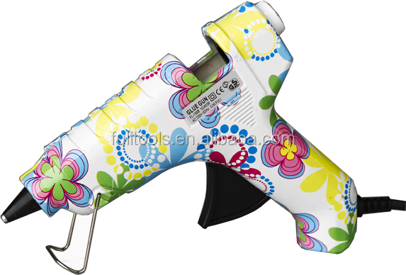 40w printed HOT MELT GLUE GUN(CE/GS/ROHS/UL)