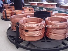 Cu 99.9% pancake copper pipe