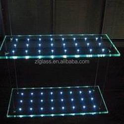 Top Quality LED Laminated Glass Partitions,Flashing Glass,