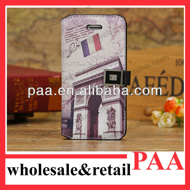 Newest for iphone 5c leather case