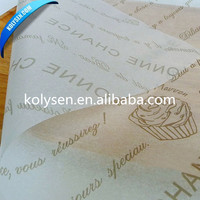 Food Grade Burger Wrap Paper Manufacturer