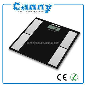 5-in-1 digital body fat and water weighing scale factory top seller