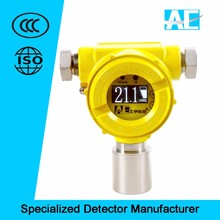 ISO certified fixed toxic gas leak detector with explosion-proof